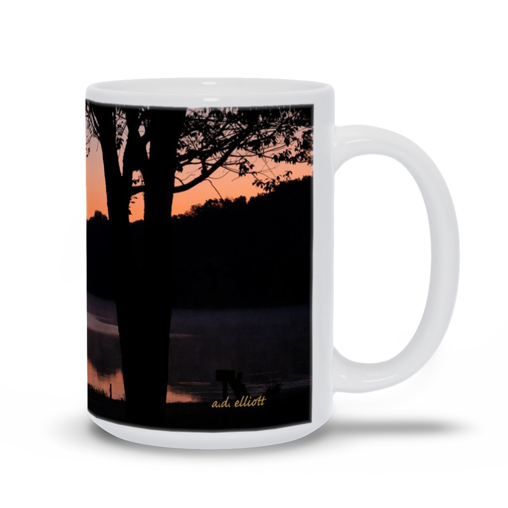 The photograph Loch Lomond August 2019 imprinted on a 15oz coffee mug.  Add a bit of brightness to the morning routine with one of our high quality, dishwasher and microwave safe classic mugs made from quality ceramic with a comfortable handle.