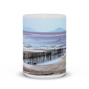 The photograph Leftovers imprinted on a 15oz coffee mug.  Add a bit of brightness to the morning routine with one of our high quality, dishwasher and microwave safe classic mugs made from quality ceramic with a comfortable handle.