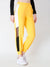 SCORPIUS YELLOW SIDE STRAP TRACK PANT
