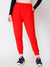 SCORPIUS RED SOLID TRACK PANT