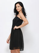 Black One Shoulder Dress