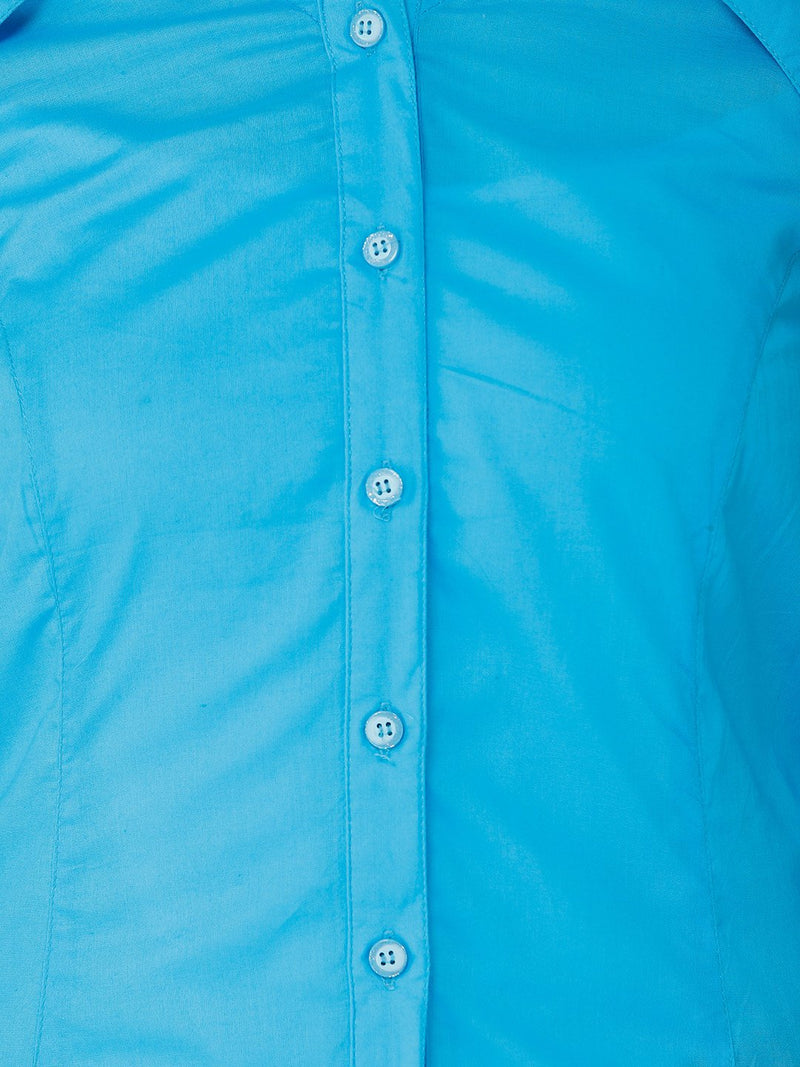 Solid Light Blue Shirt