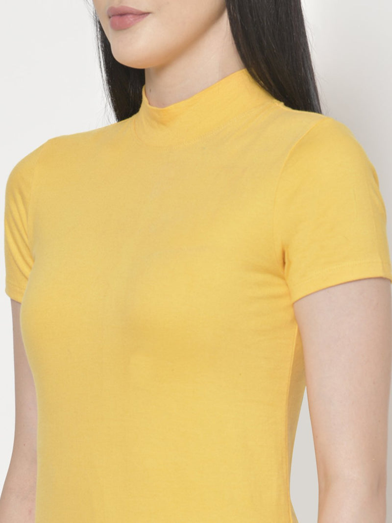 Cation Yellow Cotton Top
