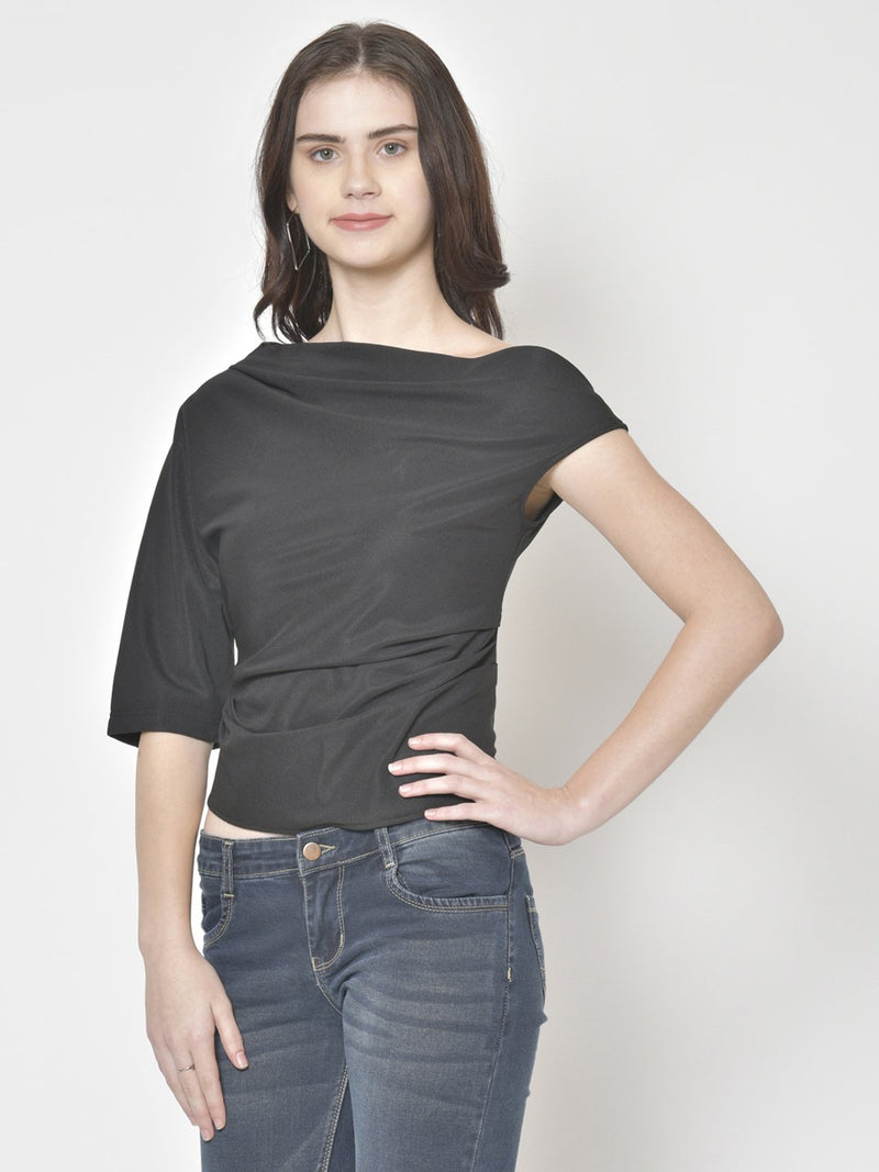 Cation Black Solid Top