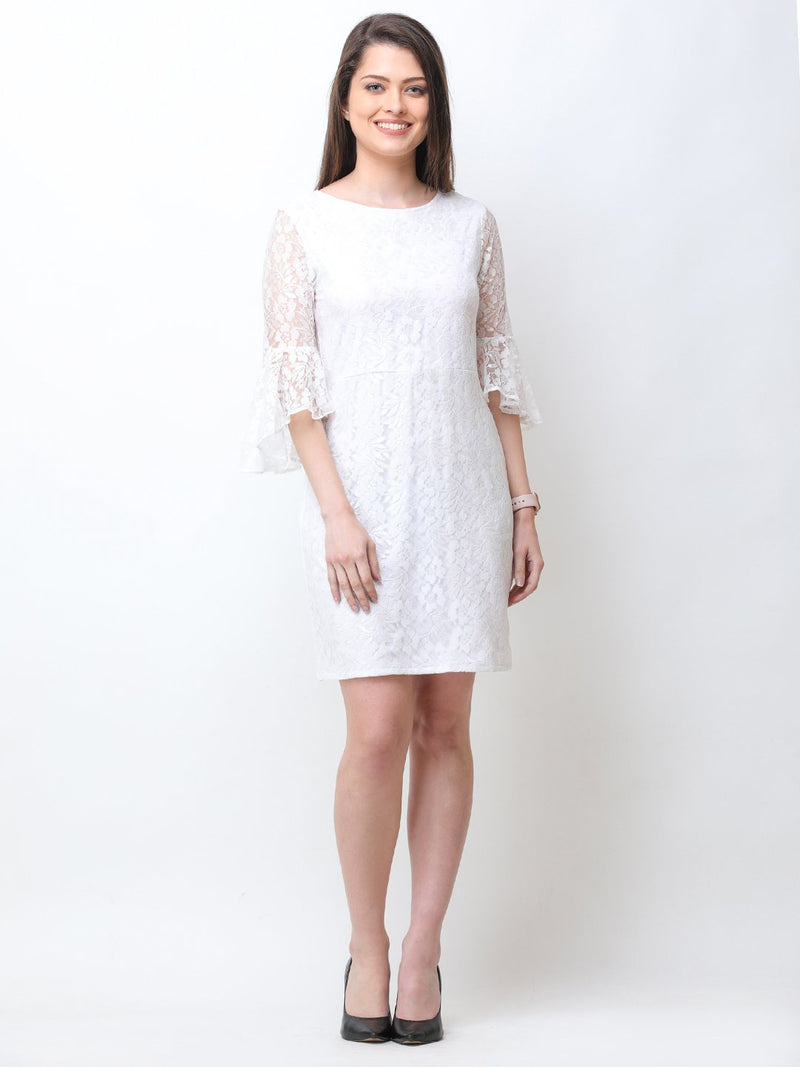 White Lace Dress