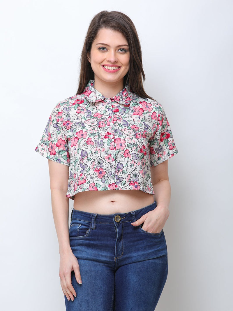 Multicolor Printed Shirt