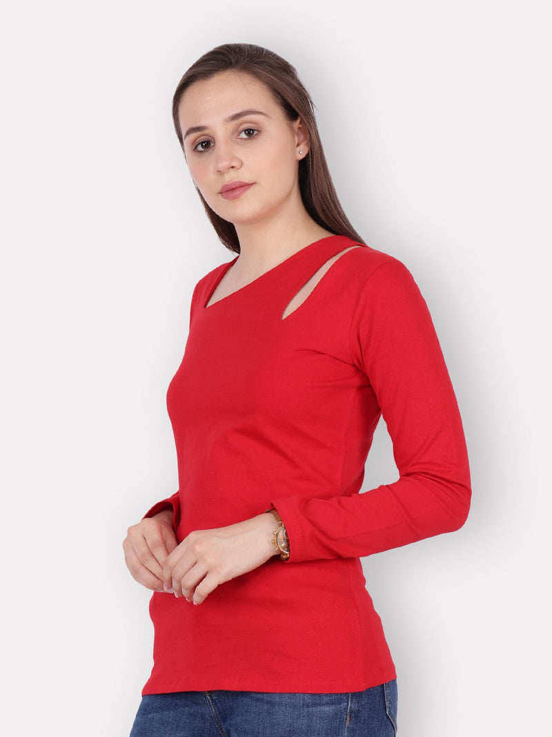 Scorpius Red full sleeve Top