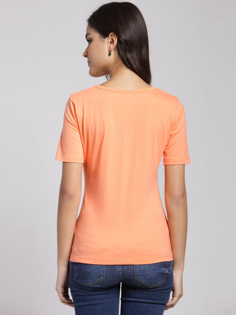 Cation Solid Orange Top