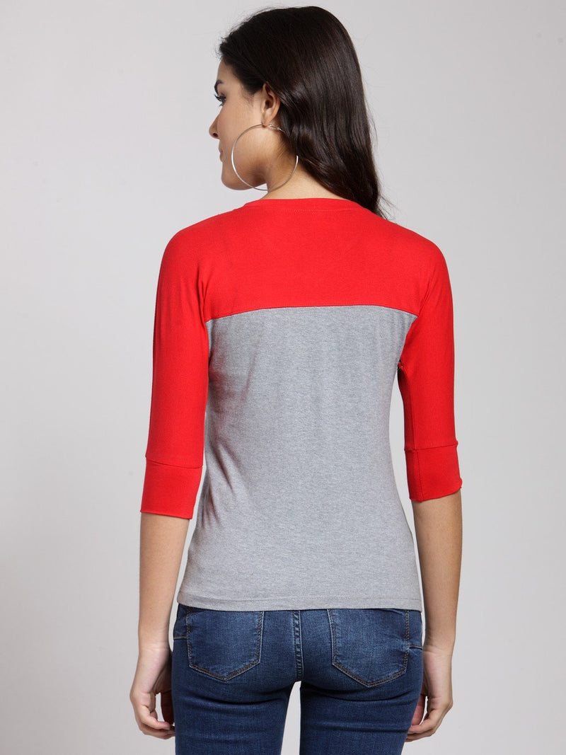 Red Solid Top