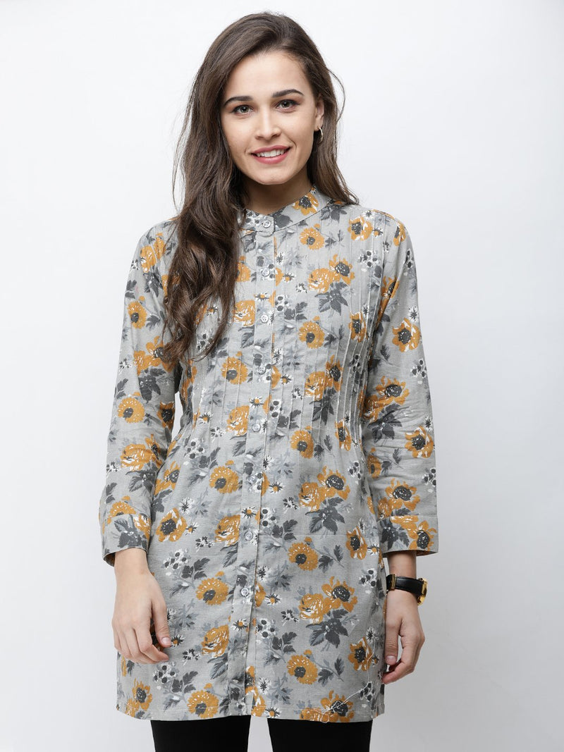Cation Printed Tunic