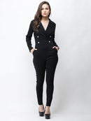 Cation Black Jumpsuit