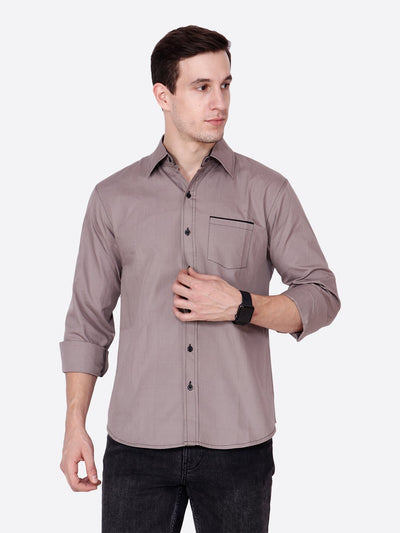 Cation Men Gray Shirt