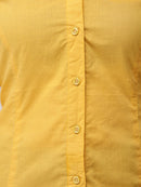 Cation Mustard Solid Shirt
