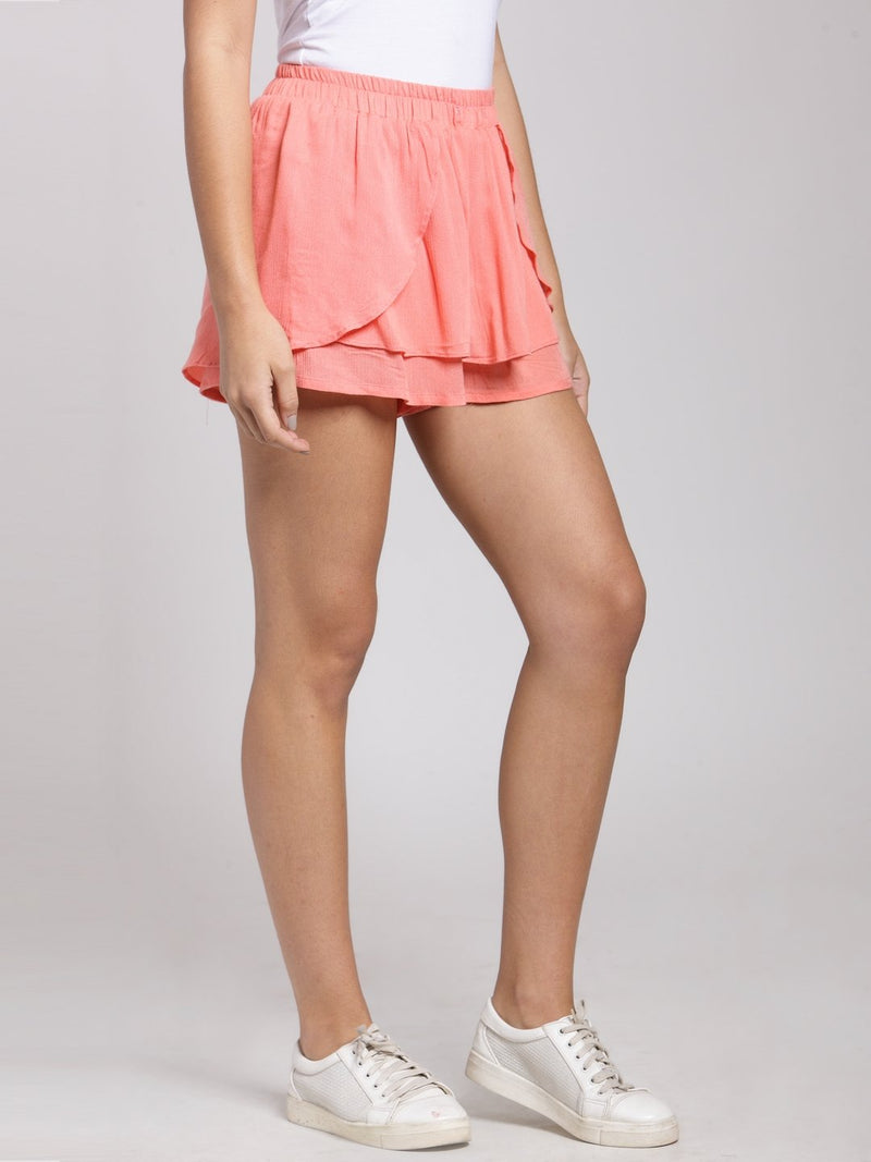 Pink Solid Short