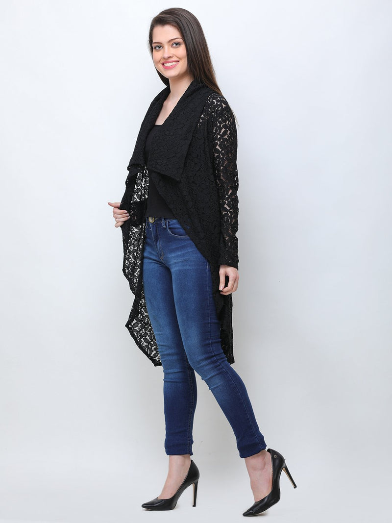 Black Lace Shrug