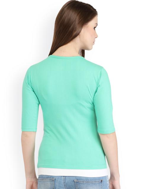 Green Solid Top