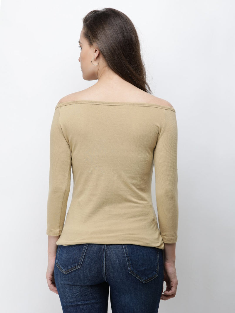 Golden Solid Top