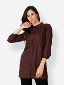 Cation Brown Tunic
