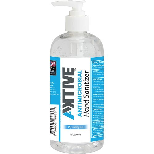 Aktive Hand-Sanitizer 16oz / 70% Ethanol (35 Count Case)