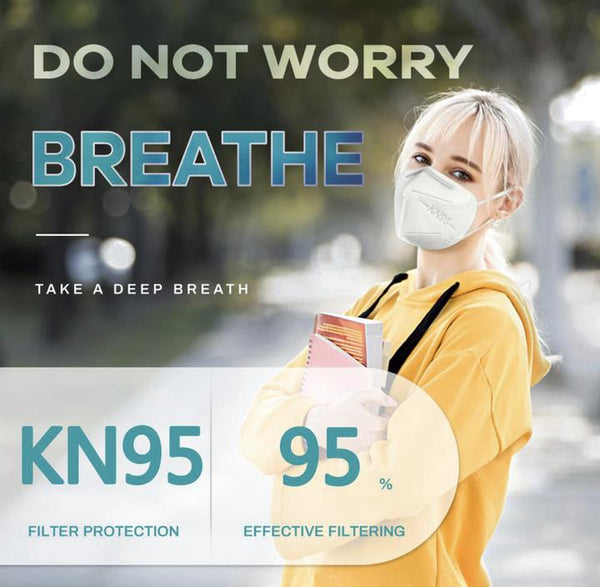 KN95 NIOSH MASK- (20 count box)