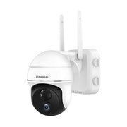ZUMIMALL Pan Tilt Security Camera Outdoor with 15000mAh Rechargeable Battery