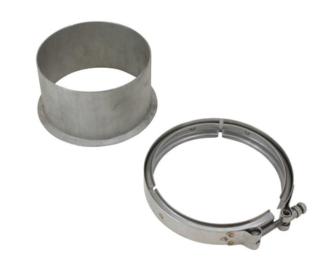"5"" Marmon Flange and Clamp S400 T6 - Black Market Performance"
