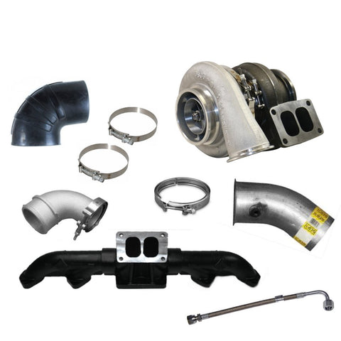 BMP ISX Cummins S478 Turbo Kit - Black Market Performance