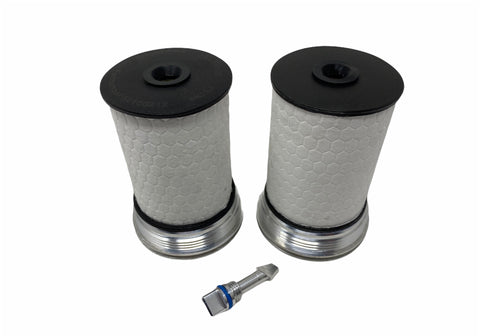 BMP 2.8 Duramax Billet Fuel Filter Cap Kit - Black Market Performance
