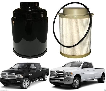 13-18 Cummins Fuel Filter Replacement Kit - Black Market Performance