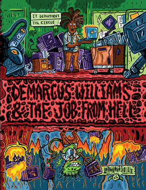 Demarcus Williams and the Job from Hell Graphic Novel