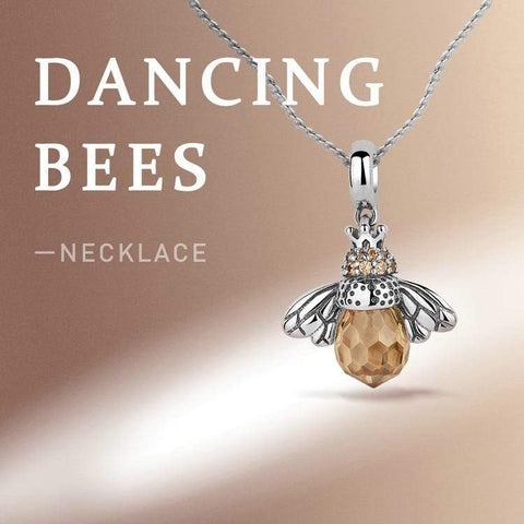 Wow Jewelry Shop Lovely Bee Pendent Necklace