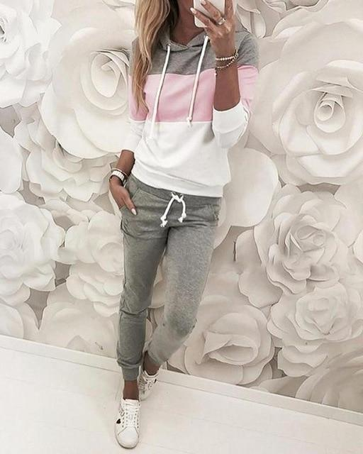 Wow Jewelry Shop Casual Autumn Tracksuits