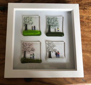 Personalised Four season in Box Frame