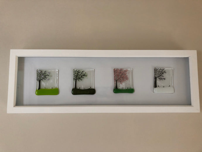 Large Four season in Box Frame