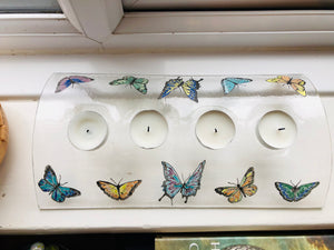 Butterfly candle bridge