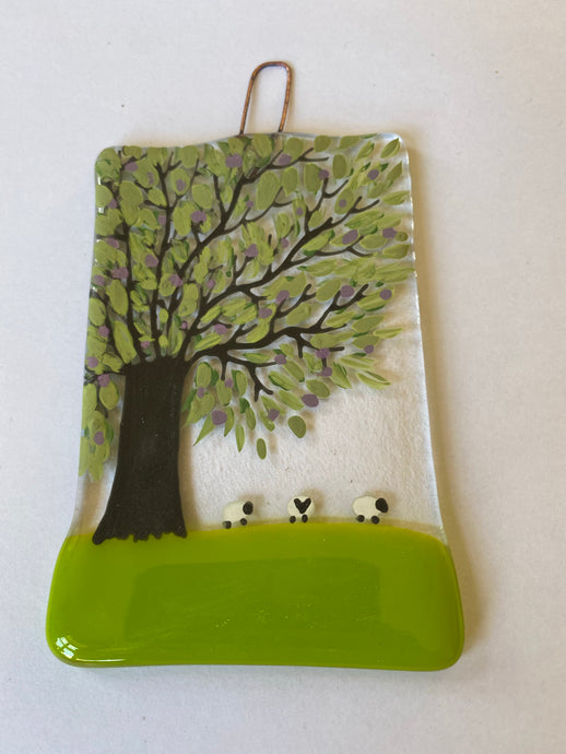 Spring Sheep Wall Hanging