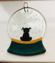 Load image into Gallery viewer, Personalised animal snow globe