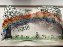 Load image into Gallery viewer, Pet Ashes Memorial Rainbow Glass