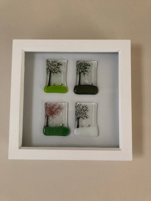 Four season in Box Frame