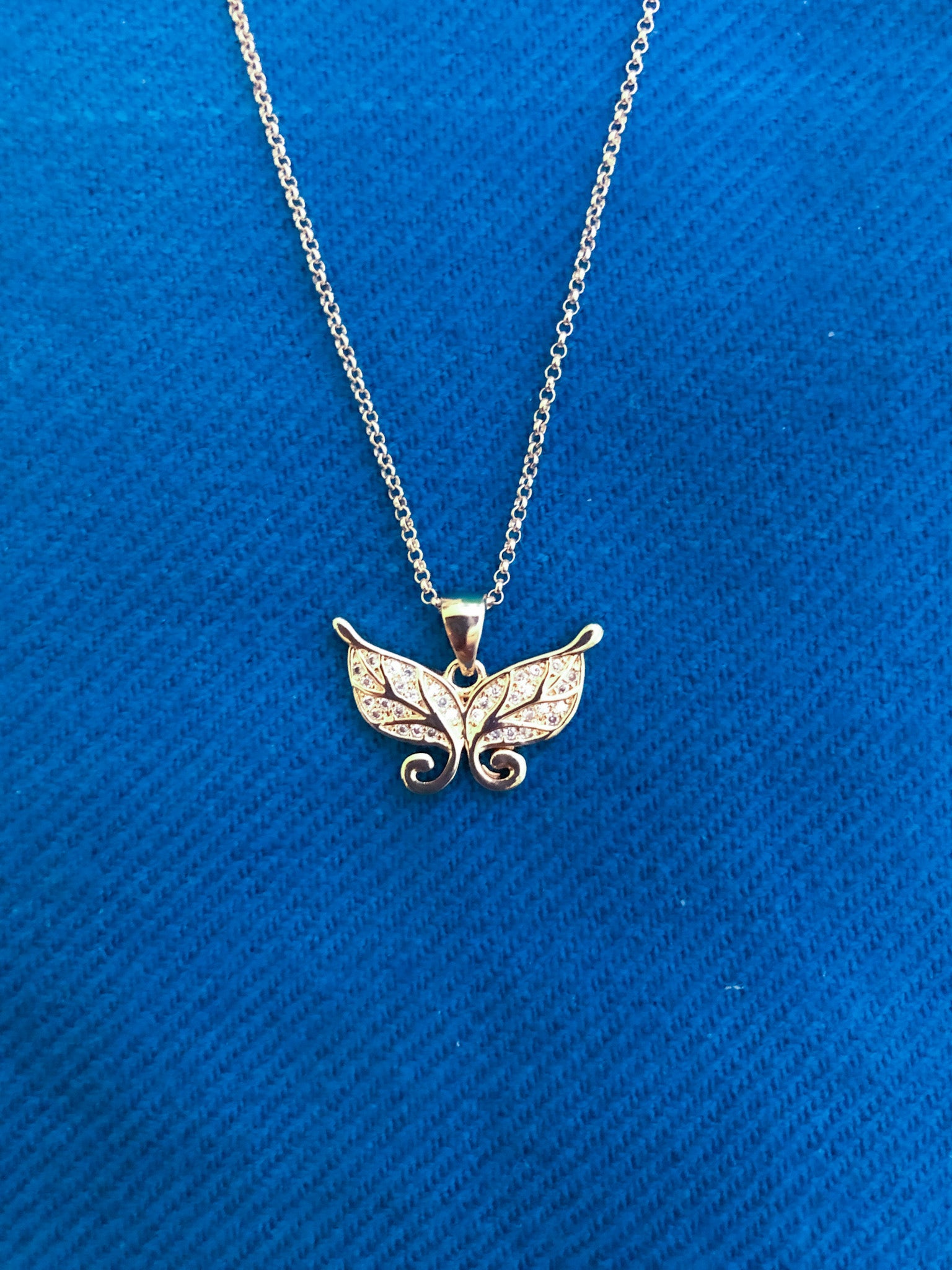 Imara Butterfly Necklace