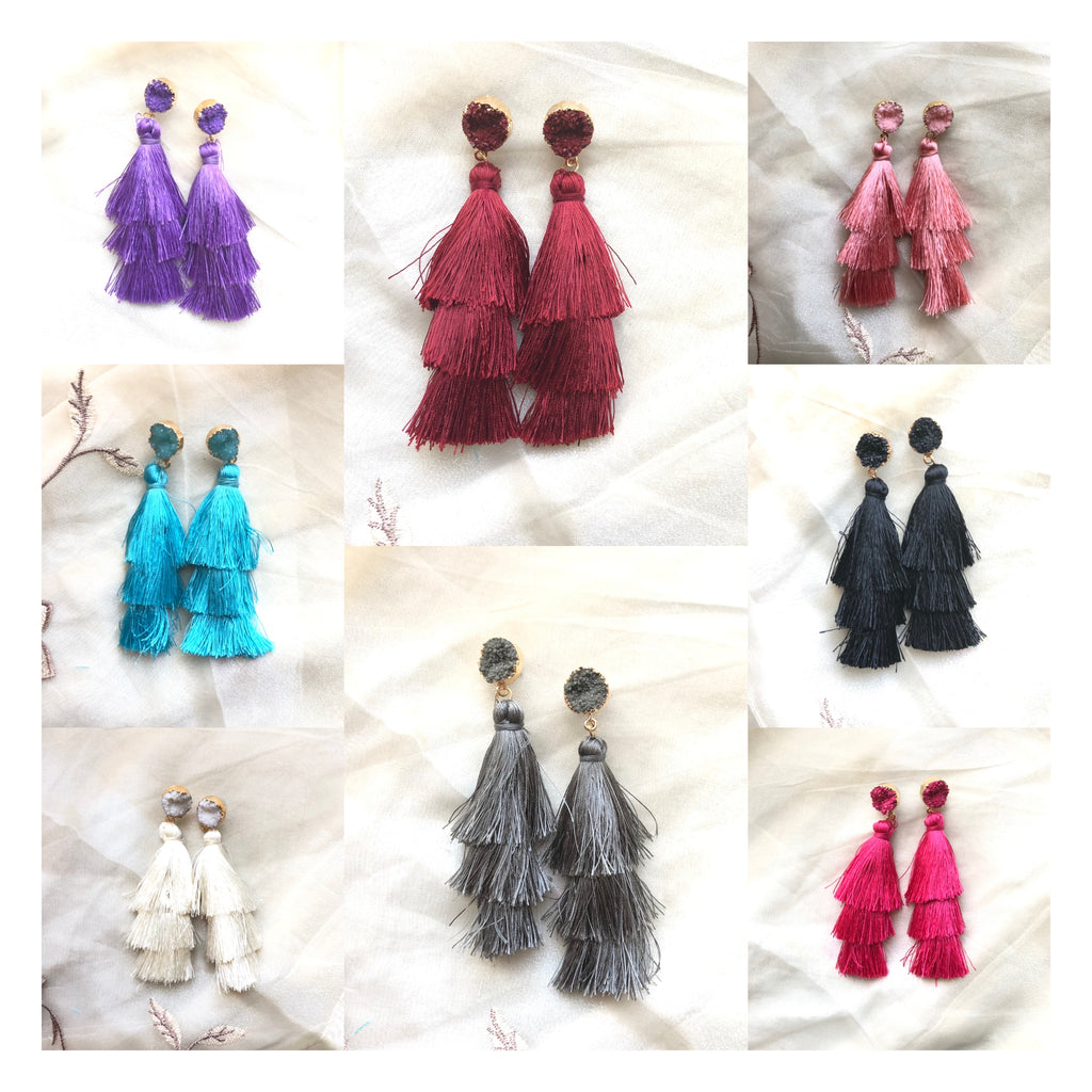 Dhara Tassel Earrings
