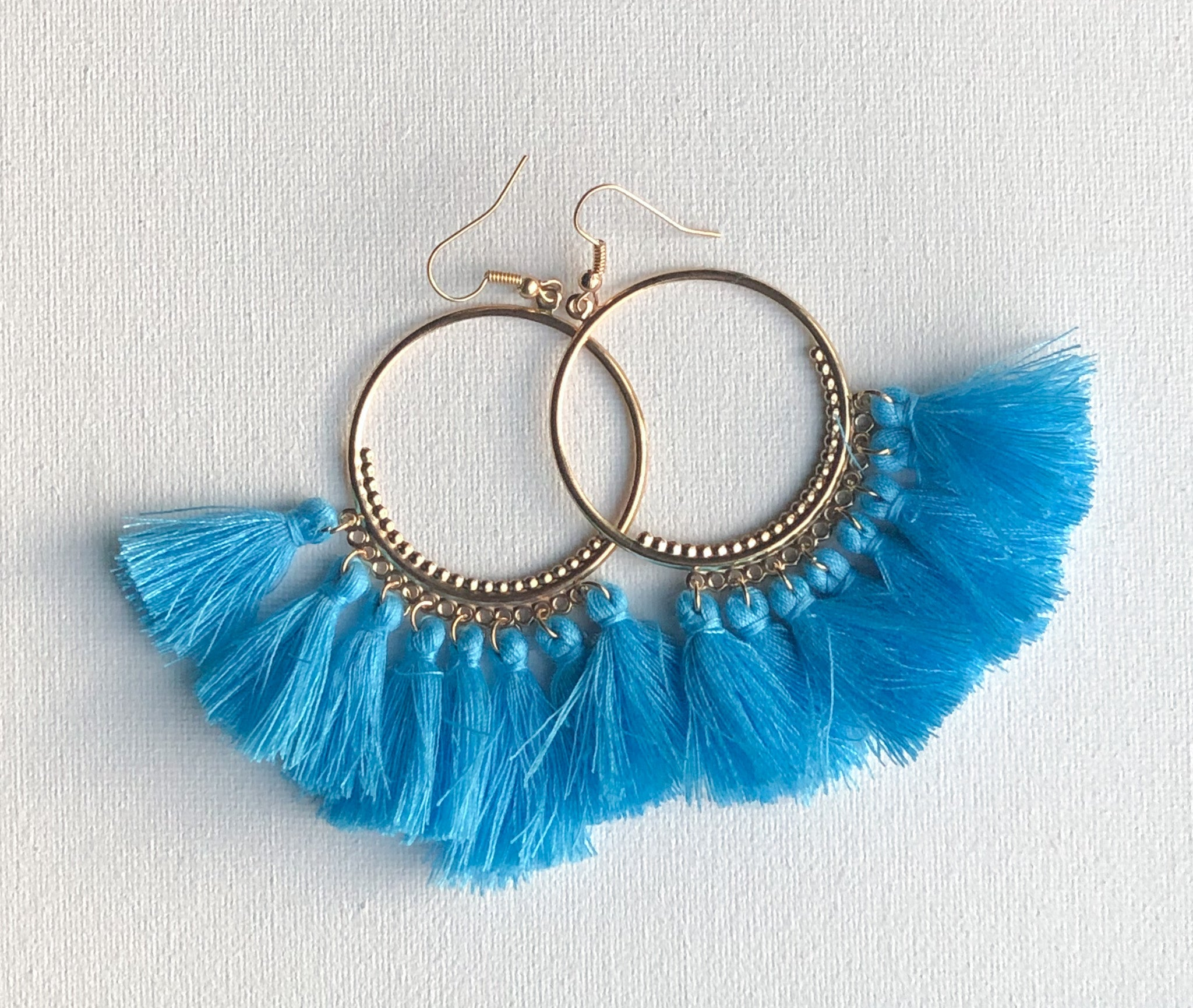 Seema Earrings - Design 1 (Sky Blue)