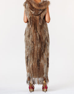 Fur Long Brown