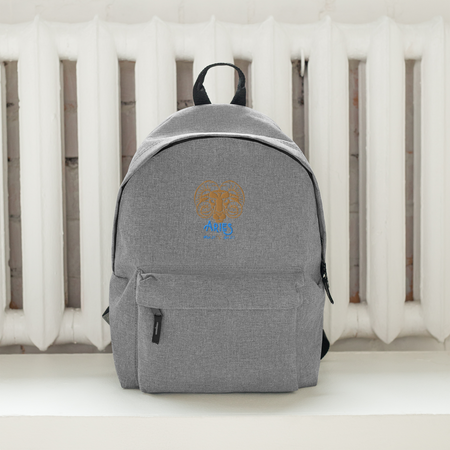 Aries - Embroidered Backpack