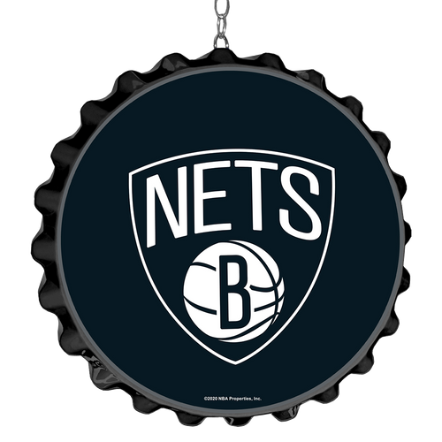 Brooklyn Nets: Bottle Cap Dangler
