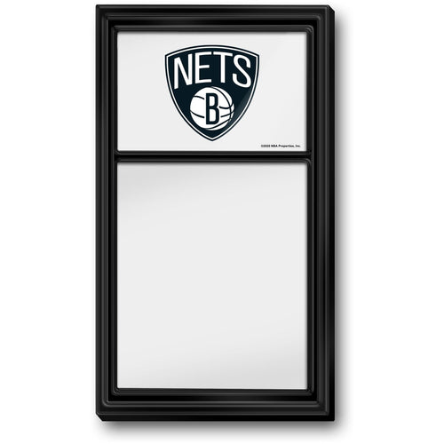 Brooklyn Nets: Dry Erase Note Board