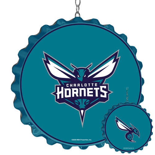 Charlotte Nornets: Bottle Cap Dangler