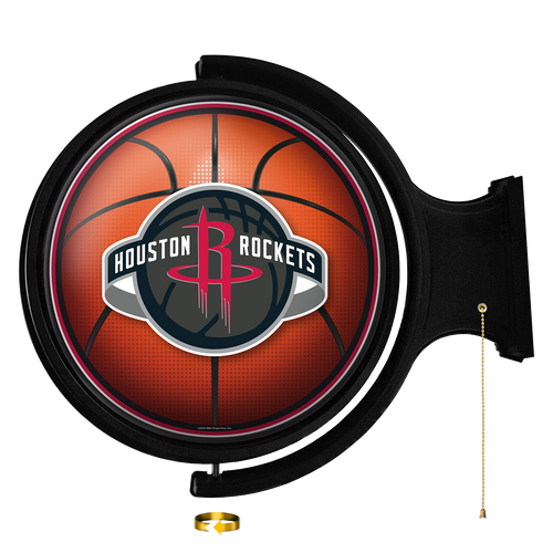Houston Rockets: Basketball - Original Round Rotating Lighted Wall Sign