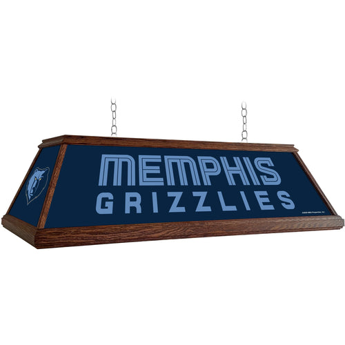Memphis Grizzlies: Premium Wood Pool Table Light - The Fan-Brand