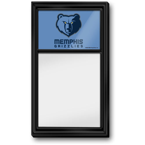 Memphis Grizzlies: Dry Erase Note Board - The Fan-Brand